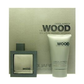 Dsquared² Silver Wind Wood He Wood Set - EDT 50 ml + DG...