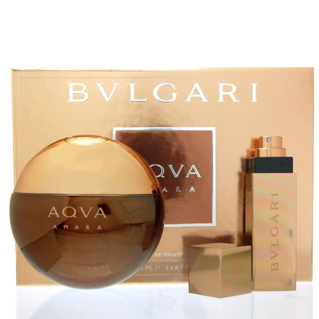 Bvlgari Aqva Amara Set - Eau de Toilette 100 ml + Mini 15 ml